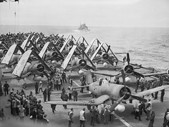 HMS FORMIDABLE July 1944