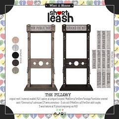 .:Short Leash:. The Pillory