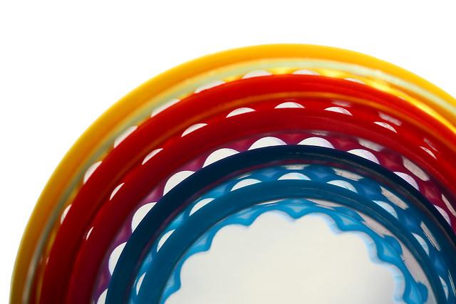 coloured curves