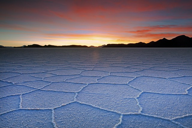 Lake Uyuni Salt Texture