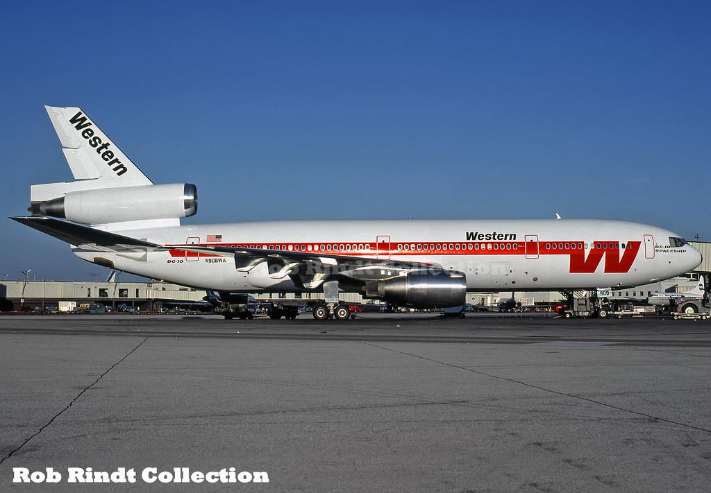 Western Airlines DC-10-10 N908WA