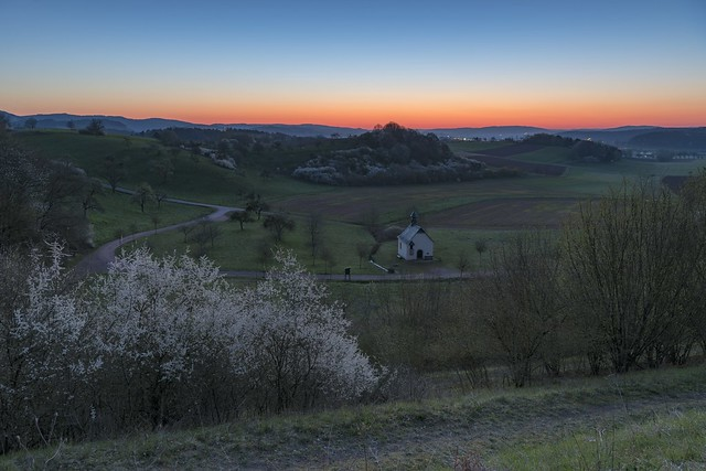 *Spring in the Moselle-Eifel @ blue hour*