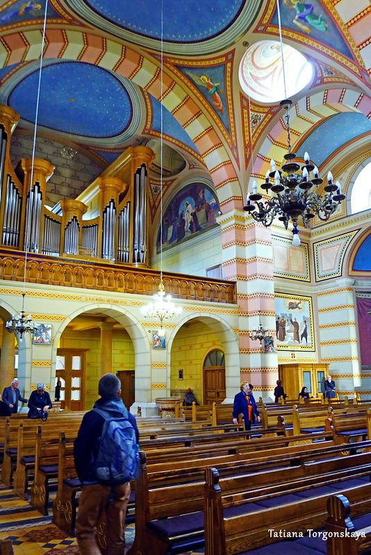 В церкви францисканского монастыря