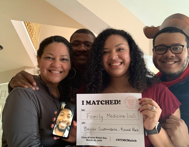 School of Medicine Class of 2020 Virtual Match Day
