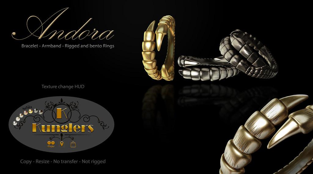 KUNGLERS – Andora set – Vendor