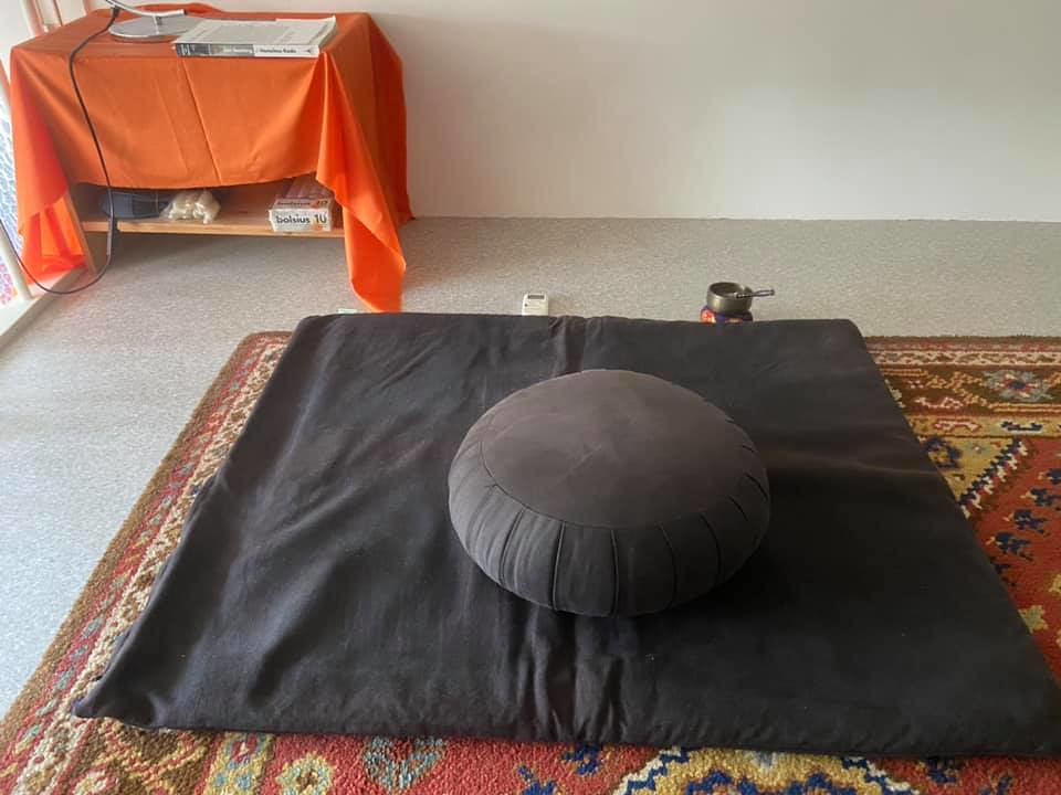 Zazen at home during lockdown