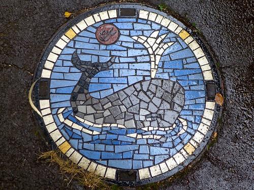 Kawasaki Kanagawa, manhole cover 5 (神奈川県川崎市のマンホール5)
