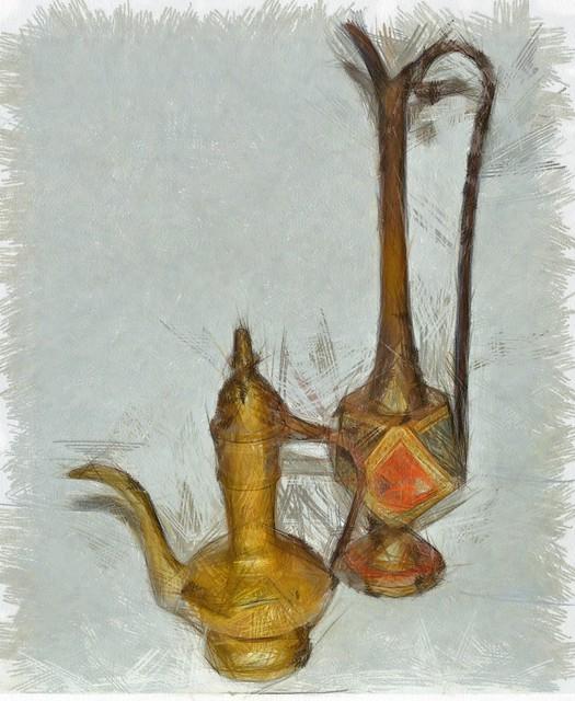 Brass Pitchers_DAP_Pencil