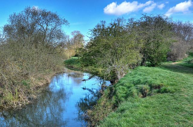 The River Ise near Burton Latimer, Northants
