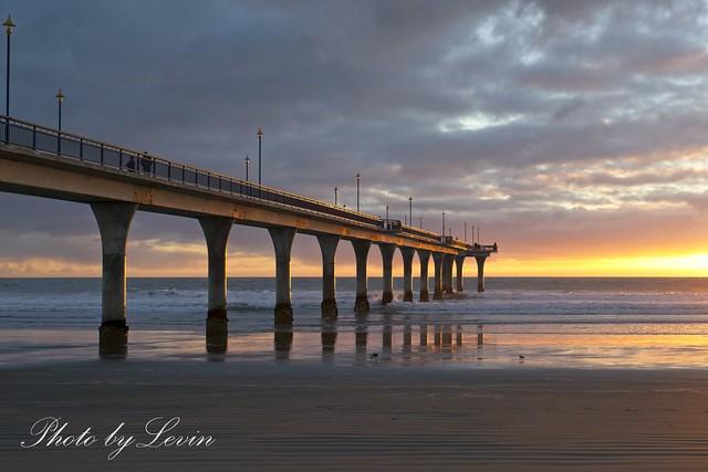 Brighten Pier Sunrise