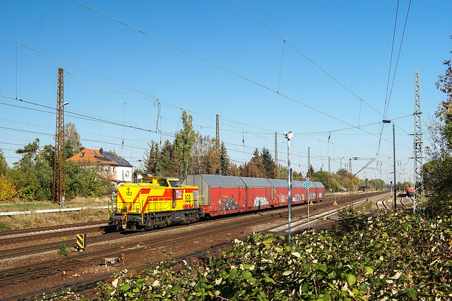 203 153 Mitteldeutsche Eisenbahn Gesellschaft | Leipzig-Wiederitzsch | Oktober 2018