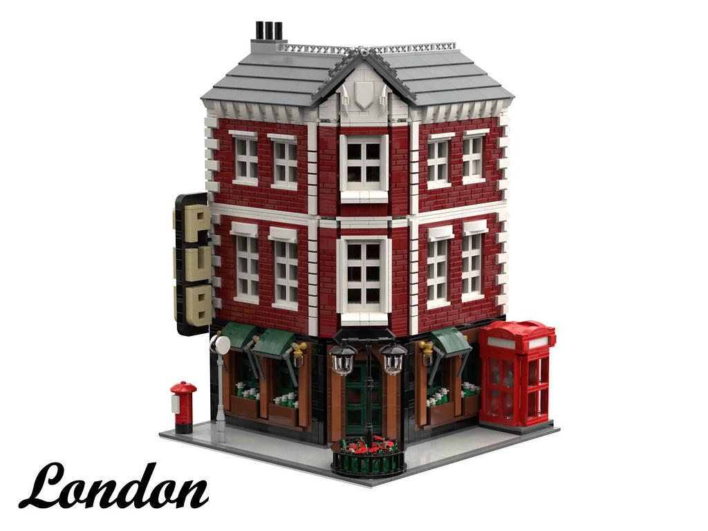 London Pub Exterior