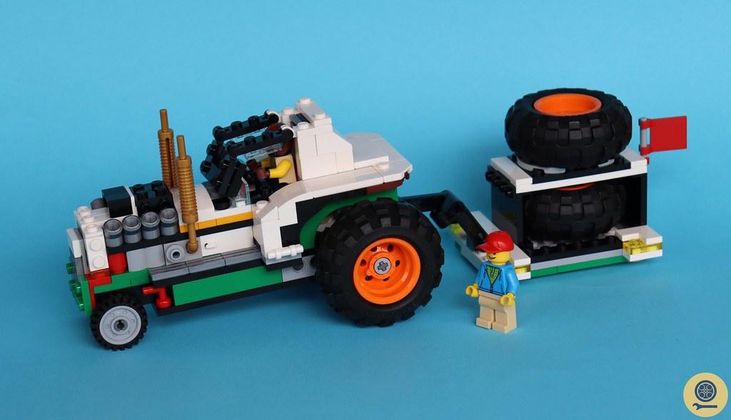 31104 Monster Burger Truck 7