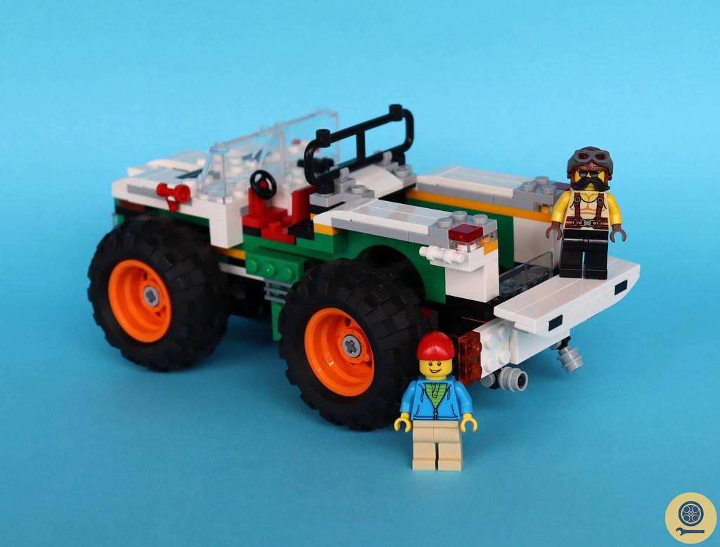31104 Monster Burger Truck 6
