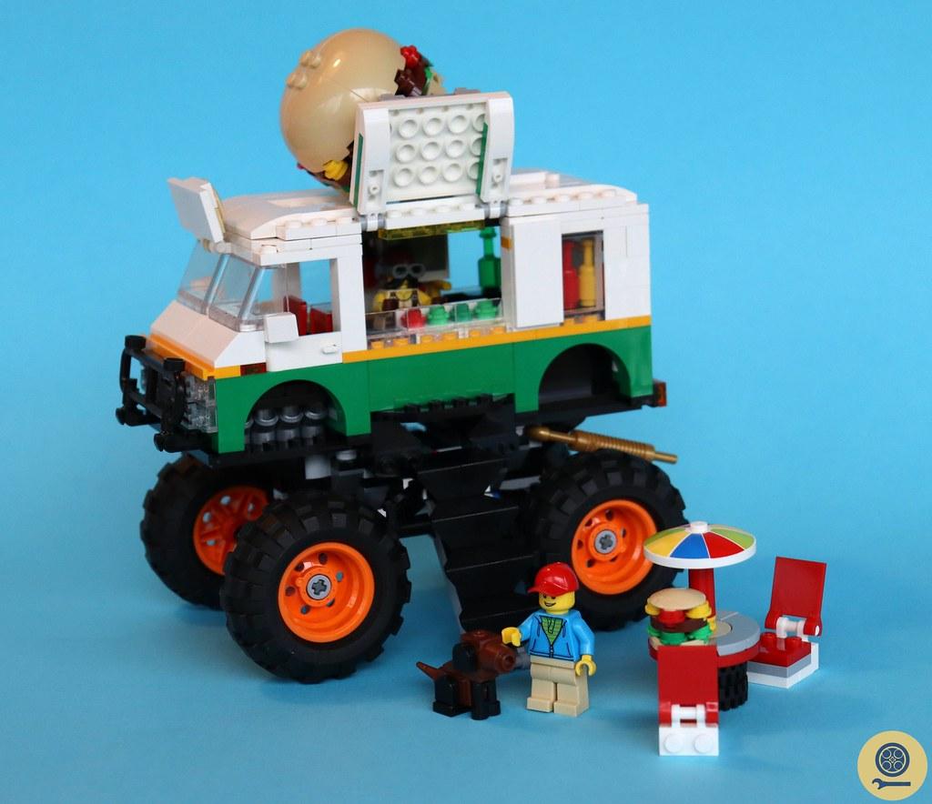 31104 Monster Burger Truck 3