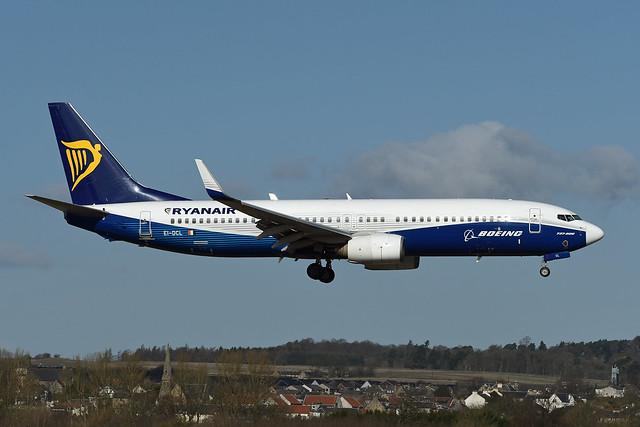 EI-DCL Boeing B737-8AS EGPH 20-03-20