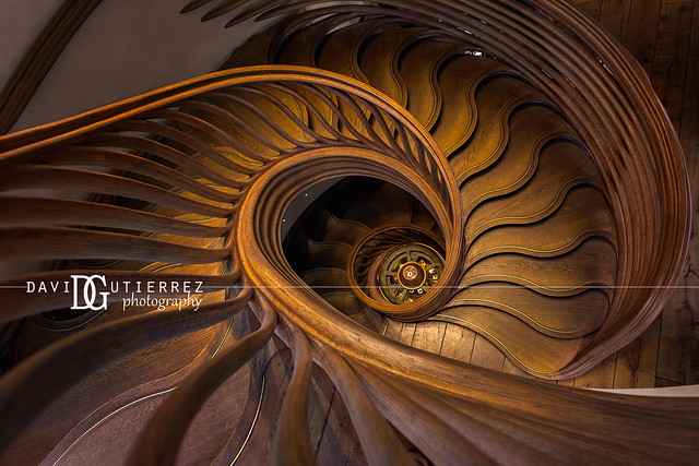 StairStalk Staircase - HIDE Restaurant, London, UK