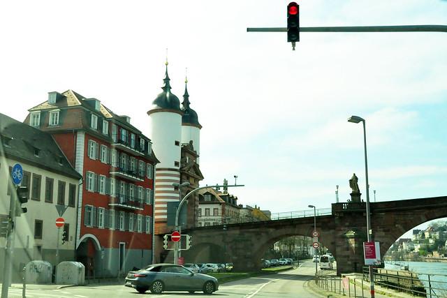 April 2020 ... Rückfahrt von Lobenfeld durch Heidelberg ... Brigitte Stolle