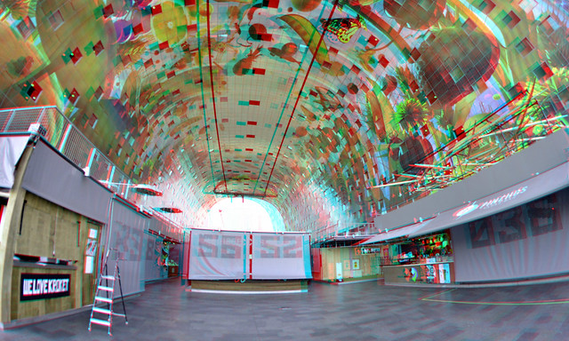 Markthal Rotterdam 3D 8mm Rokinon fish-eye