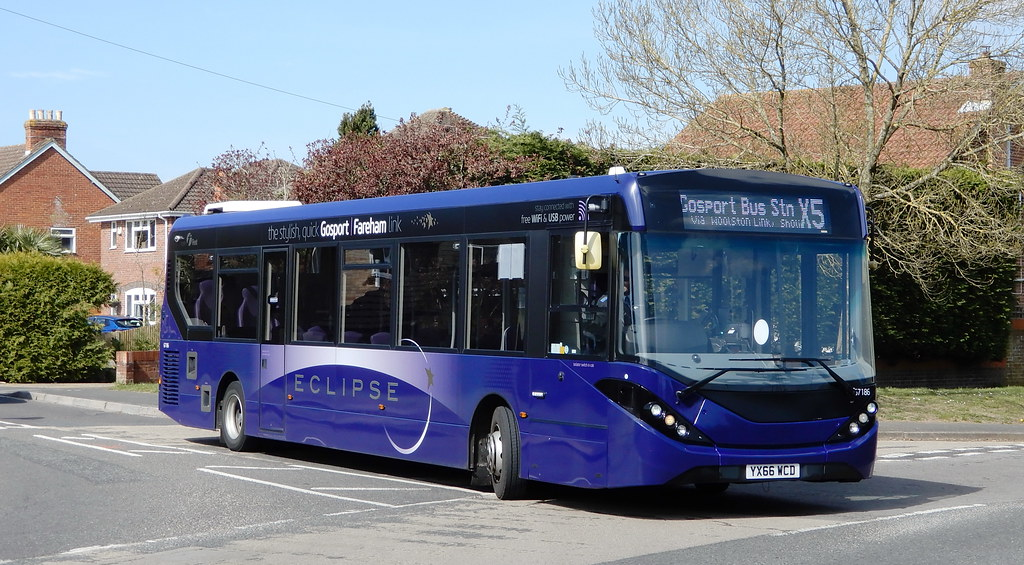 First Solent 67186 - YX66WCD
