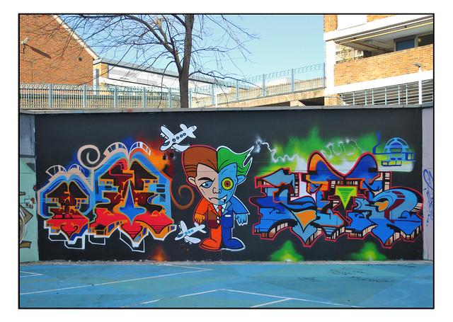 LONDON STREET ART by TOASONE