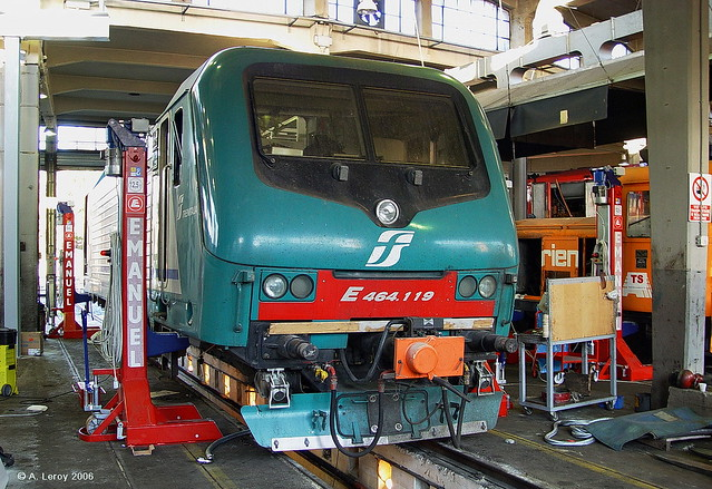 FS E 464 119 Asti Depot 16-10-2006