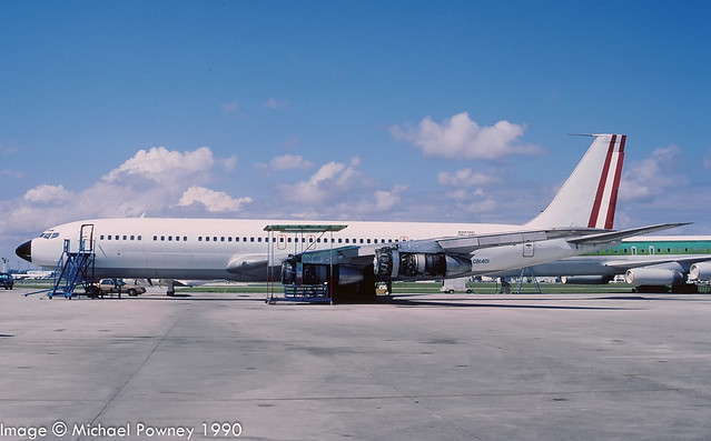 OB1401 - 1965 build Boeing B707-351C, airframe scrapped at Lima in late 2005