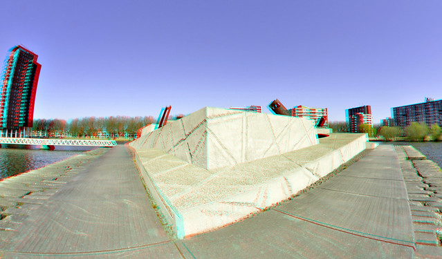 Monument Lage Land Rotterdam 3D 8mm