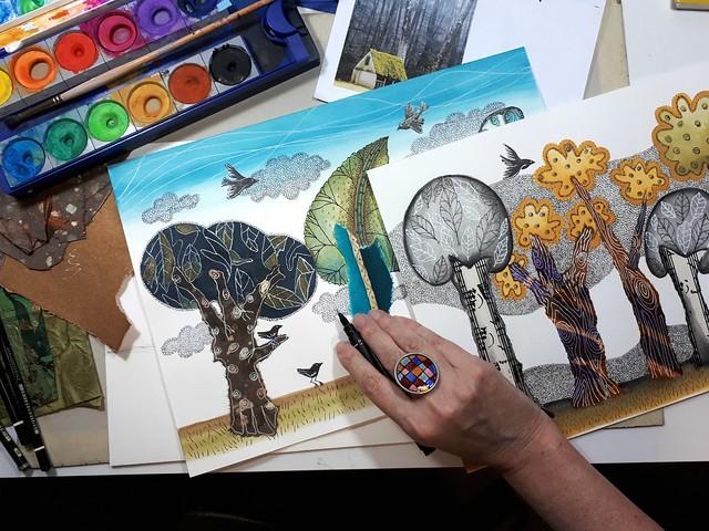 Pintando en casa 1 - Graciela Bello