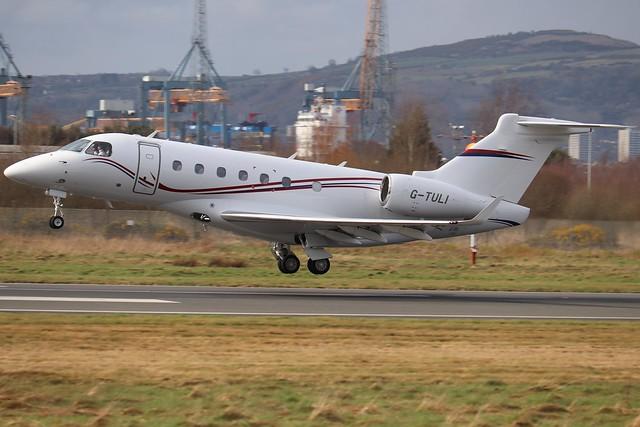 Centreline Air Charter G-TULI BHD 18/03/20