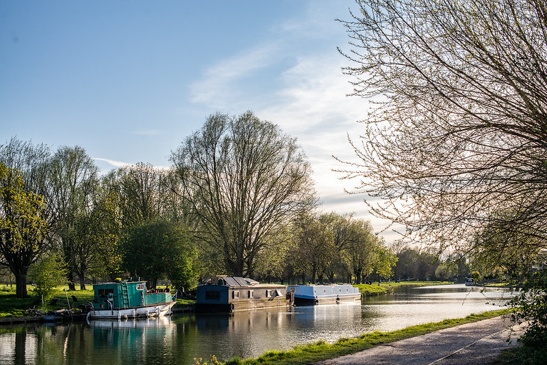 Cam river at Cambridge