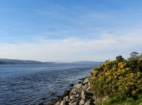 Beauly Firth from North Kessock, Black Isle, Feb 2020