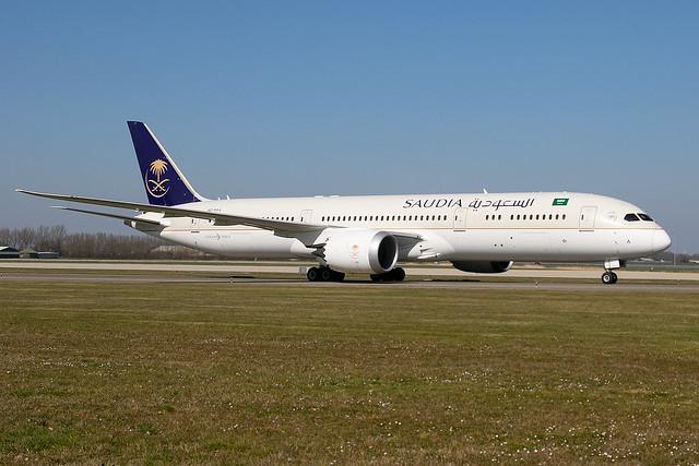 HZ-ARA, Boeing 787-9 Dreamliner, Saudia