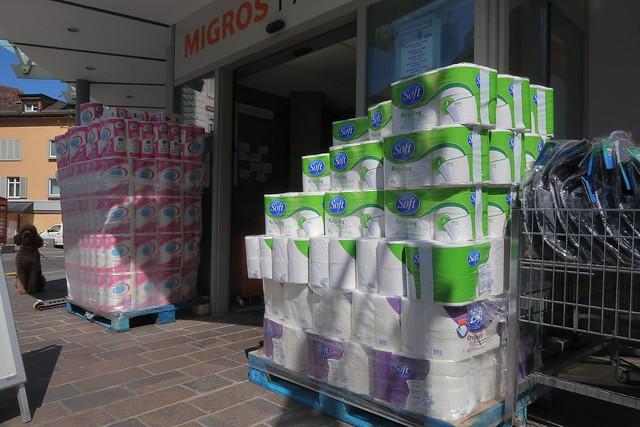 Shopping during Corona Crisis