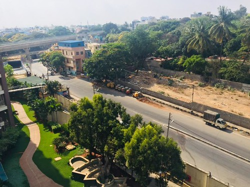 Bangalore, sen tráfico. Sharanya Nambiar