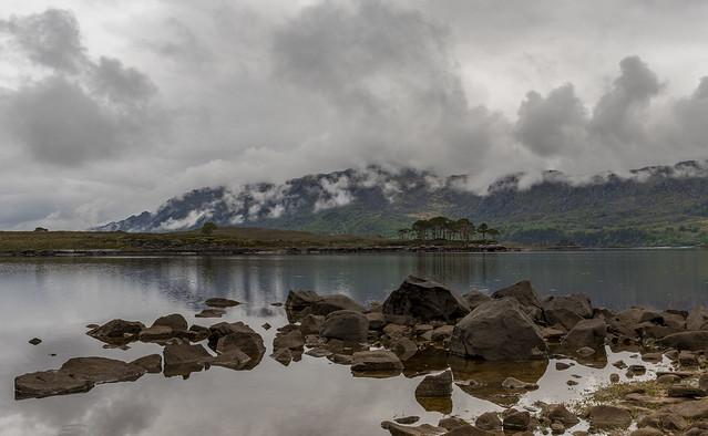 Misty Clouds near Loch Torridon
