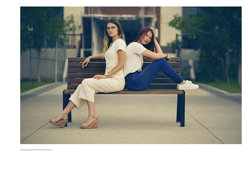 camera fashion vanveenjf styleatmo model modelling fashionable glass green sony 85mm mood lifestyle models fashionistas red hair brunette blond smile photostyle moody sitting bench unsocial distance lens photography mercato square stalbert alberta canada