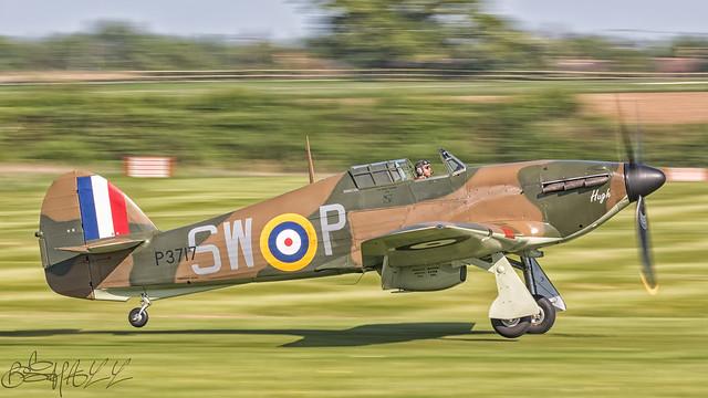 The Shuttleworth Trust Hawker Hurricane IIa G-HITT P3717-3