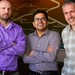 """From left, Richard Middleton, Maruti Mudunuru and Velimir """"Monty"""" Vesselinov make up a team that is studying geothermal resources in New Mexico."""