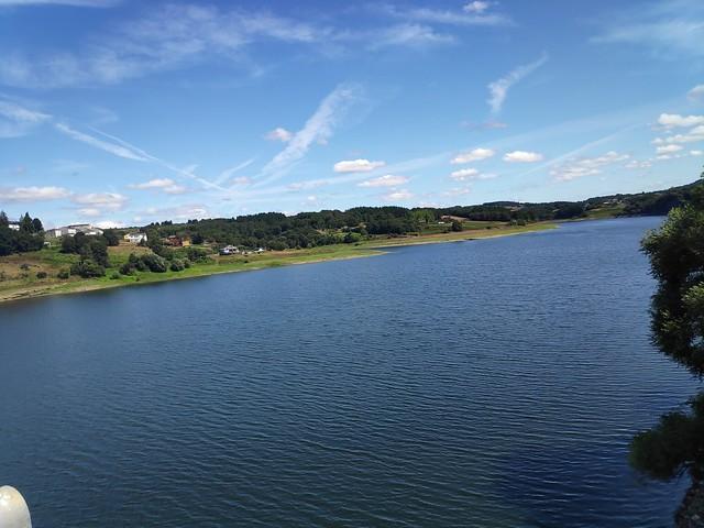 Río Miño. Embalse de Portomarín(Lugo).