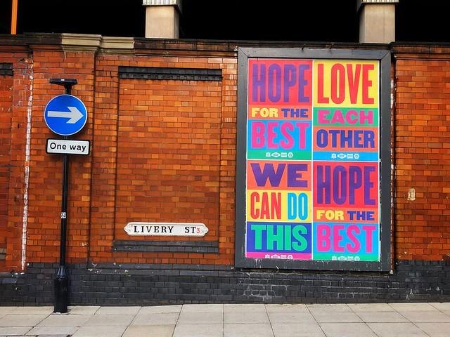 Adding a little positivity in Birmingham