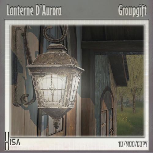 Hisa Lanterne d'Aurora - April groupgift
