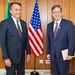 Embaixador Todd Chapman apresenta credenciais ao presidente Jair Bolsonaro