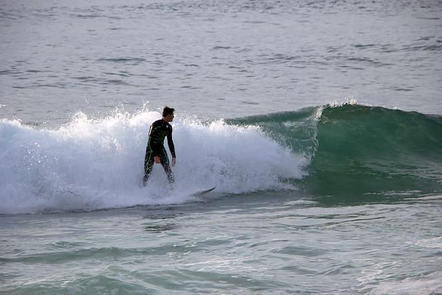 Surfing in Montara I