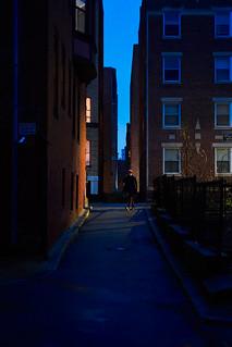 Public Alley in the Fens, Boston
