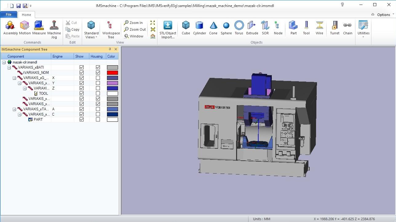 Working with IMSmachine 8.3g full license