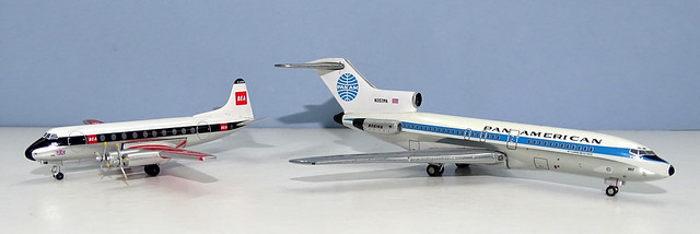 Pan Am Boeing 727-21 vs BEA Viscount 700