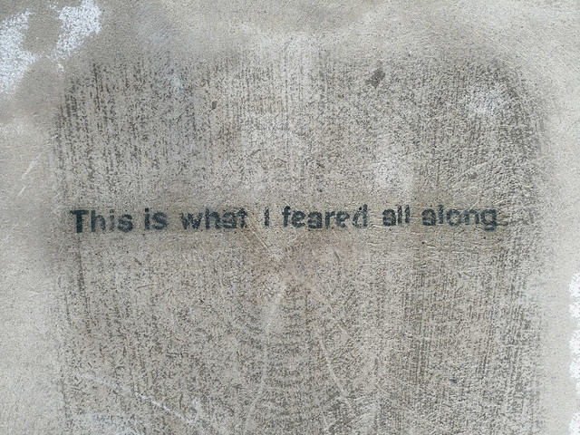 An Existential dread...