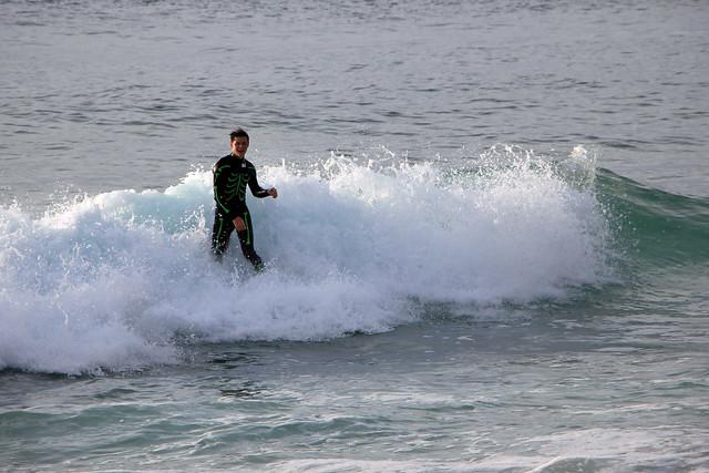 Surfing in Montara II