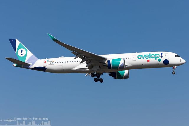 EC-NBO Evelop Airlines Airbus A350-941 (FRA - EDDF - Frankfurt)